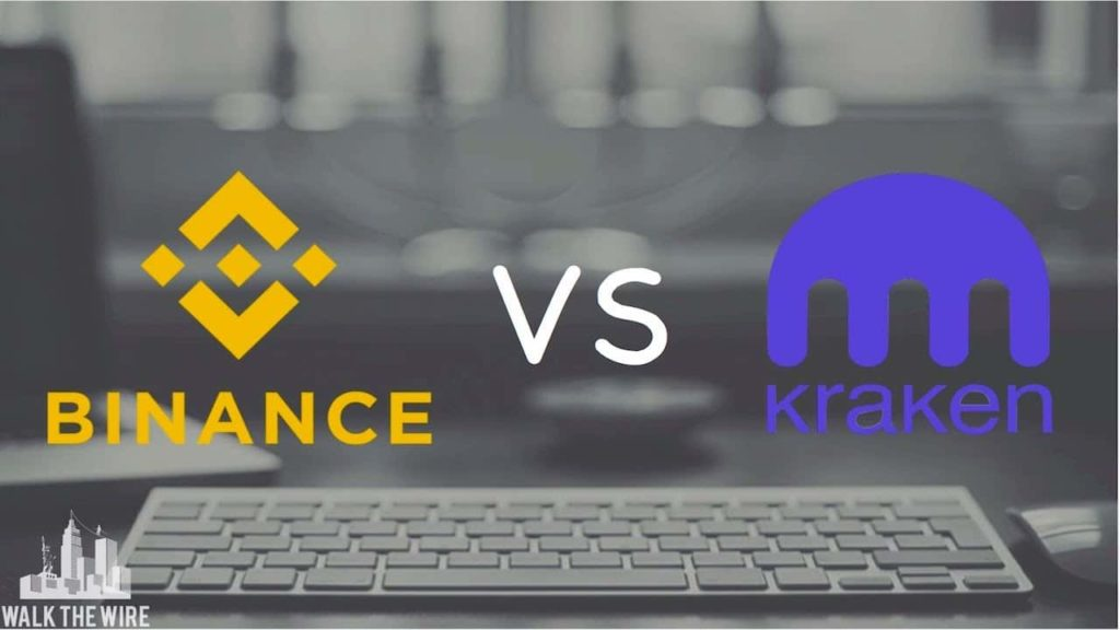 Kraken vs Binance