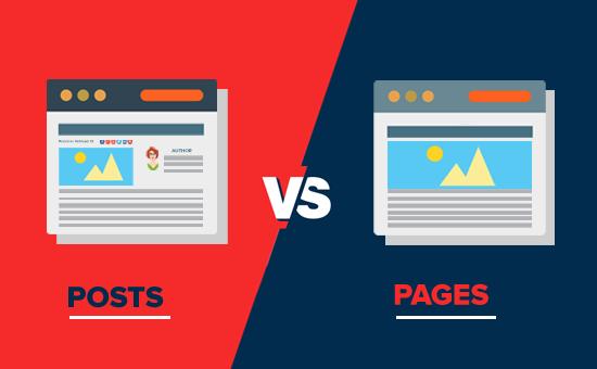 WordPress - articoli vs pagine